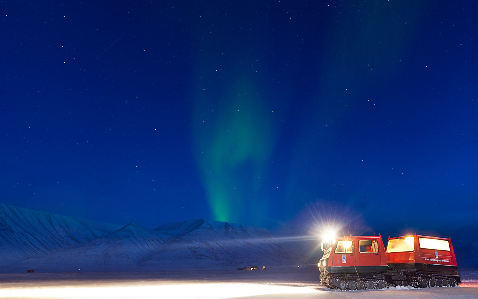 Svalbard, Norway northern lights