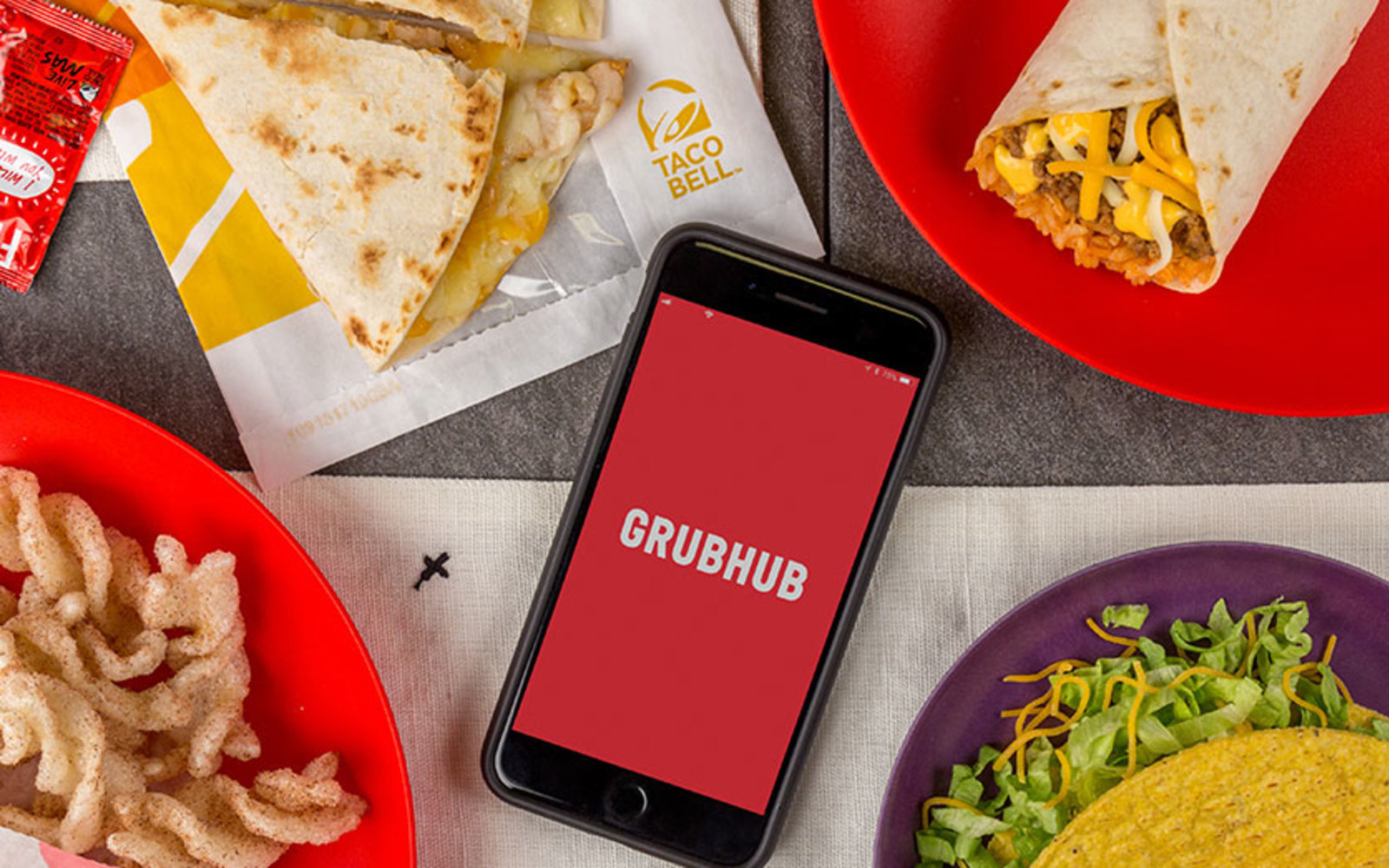 Taco Bell adds delivery nationwide via Grubhub