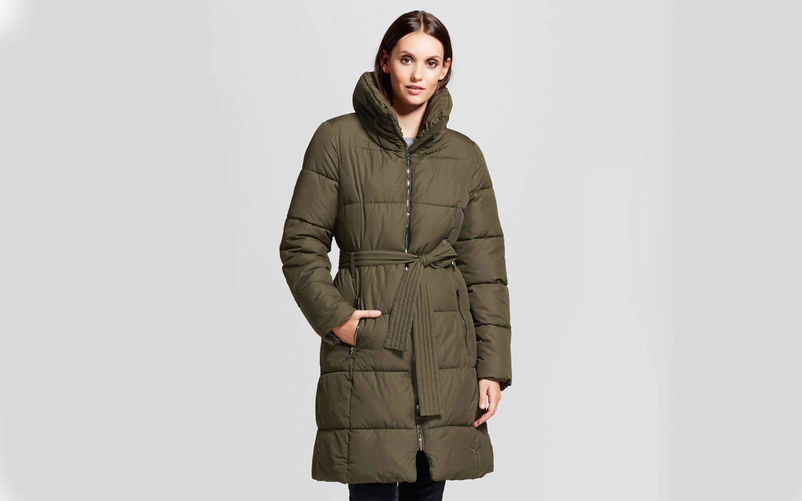 8f3513c2e01 Mossimo Women s Puffer Coat With Pillow Collar. Target c9 by Champion ...