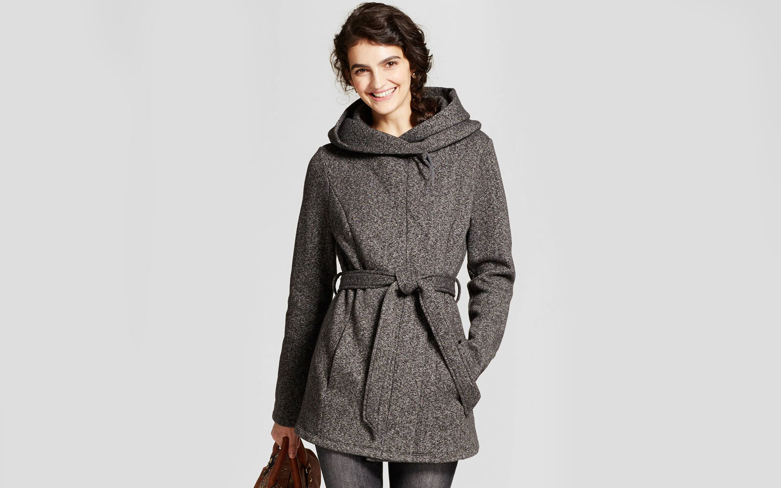 dc659e36ed4 Women s Fleece Wrap Jacket. Target A New Day ...