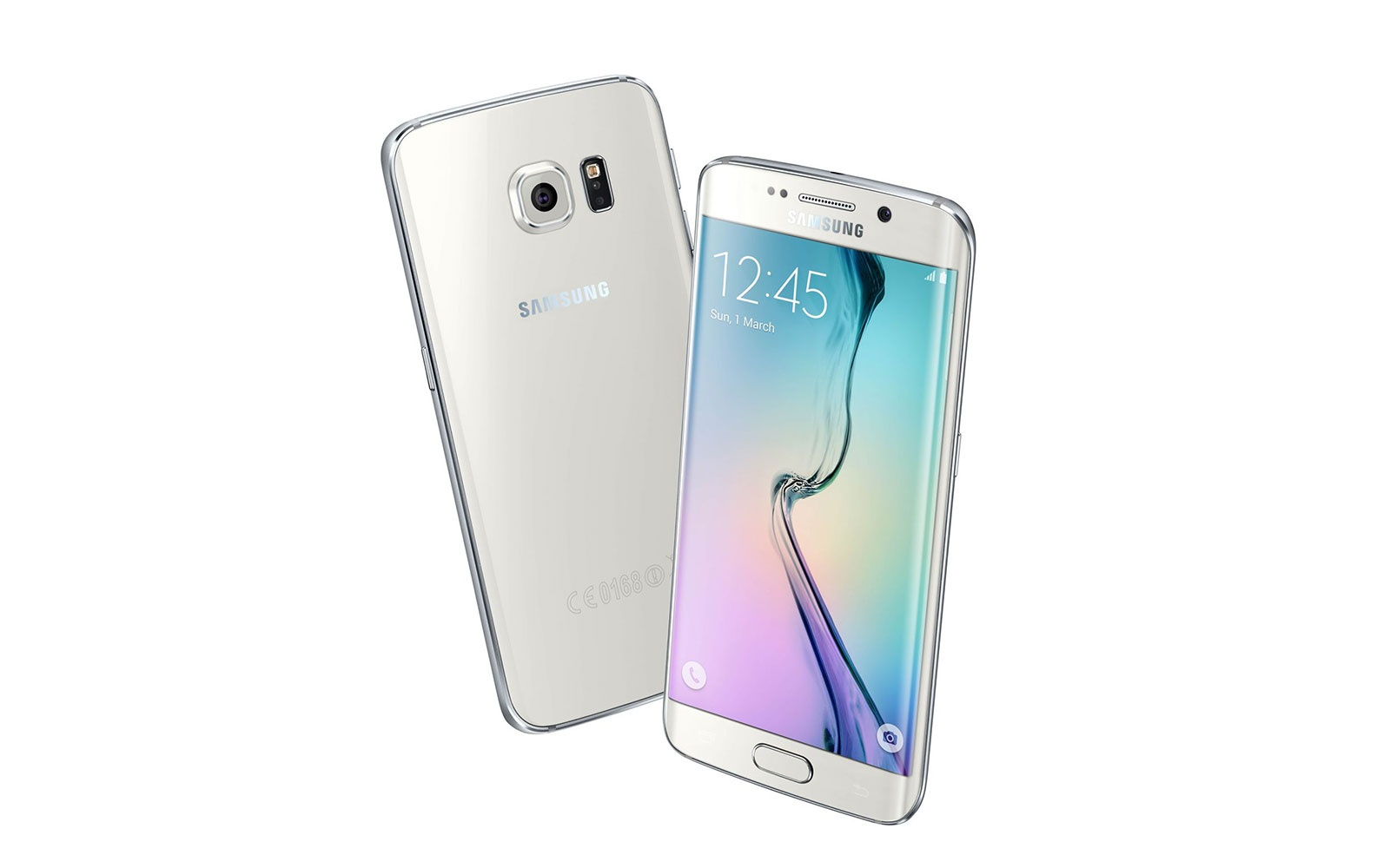 Samsung Galaxy S6 Edge mobile cellular phone