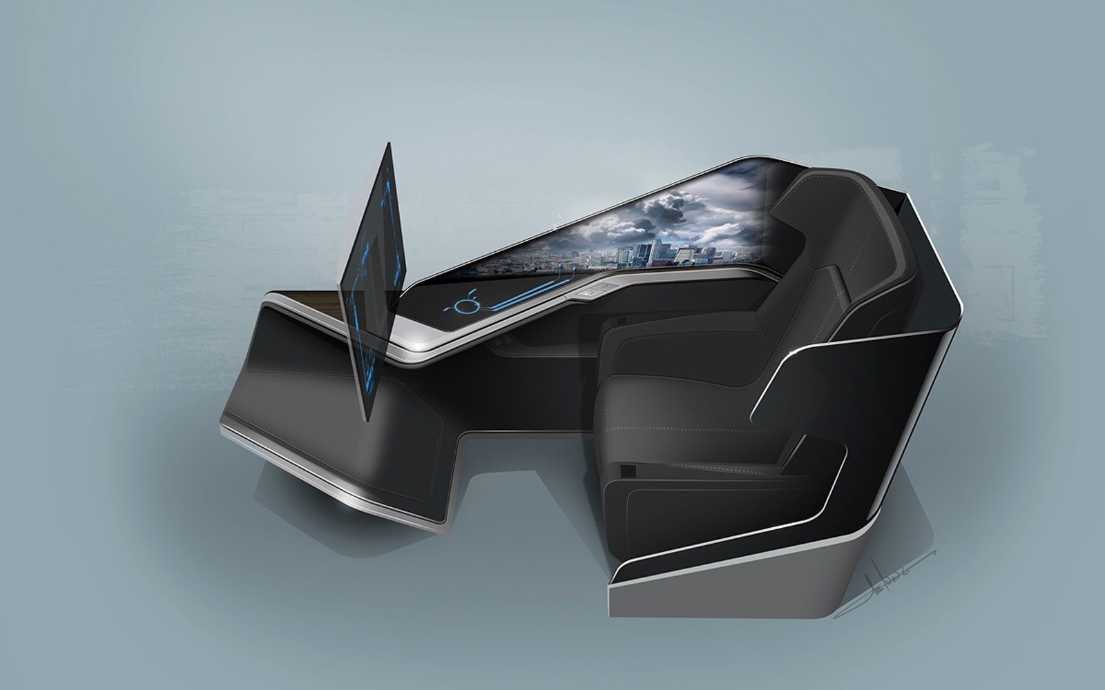 Thales Immersive Business-Class Seat – by BMW DesignWorks