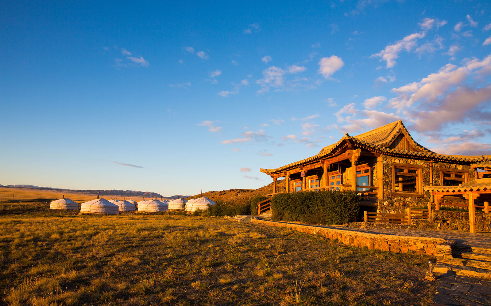 Three Camel Lodge in Mongolia
