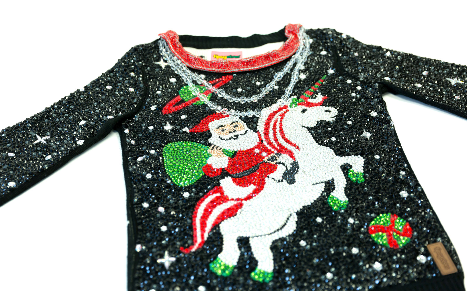 swarovskitipsy elves christmas sweater - Best Place To Buy Ugly Christmas Sweaters