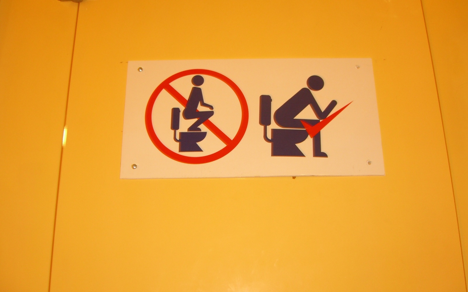 Bathroom Signs Japan funny signs from around the world | travel + leisure