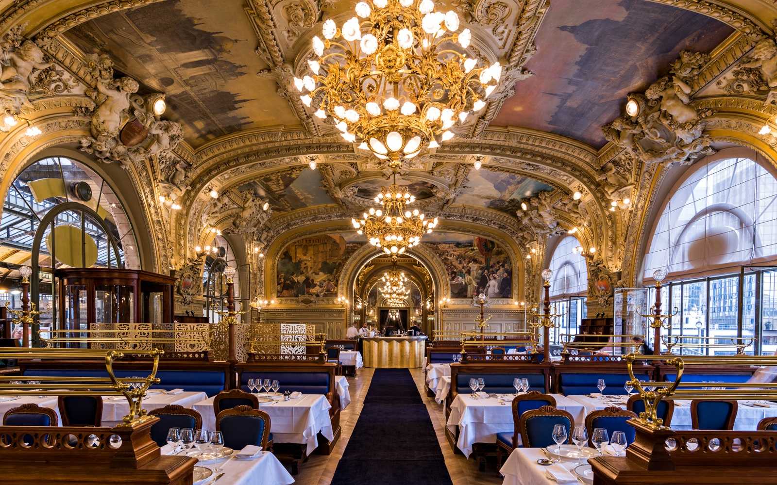 Le Train Bleu in Paris