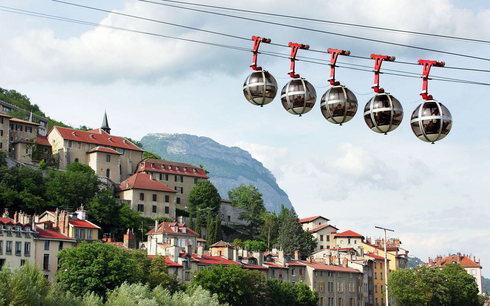 Grenoble-Bastille Cable Car, France