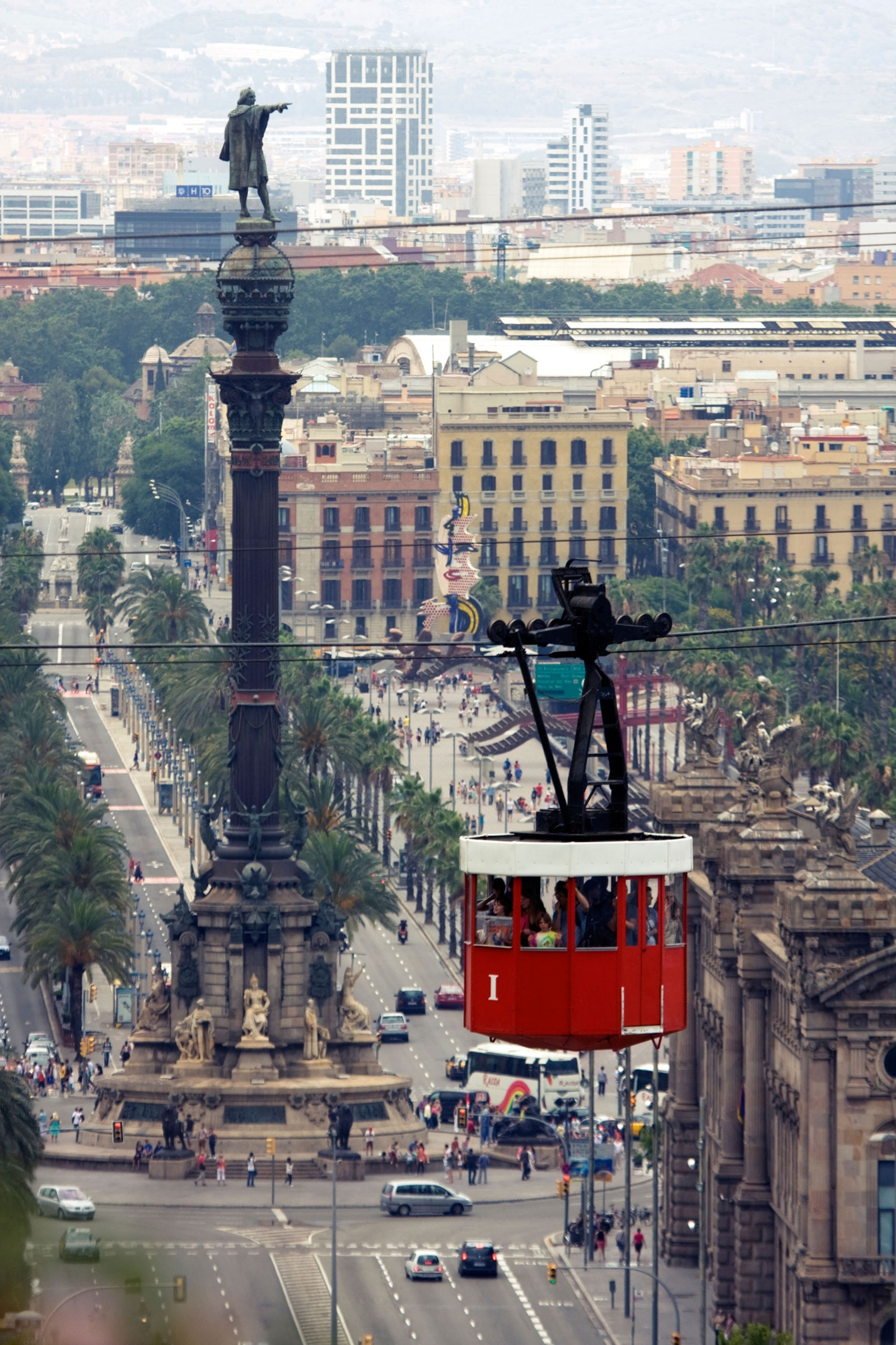 Port Vell Aerial Tramway, Barcelona