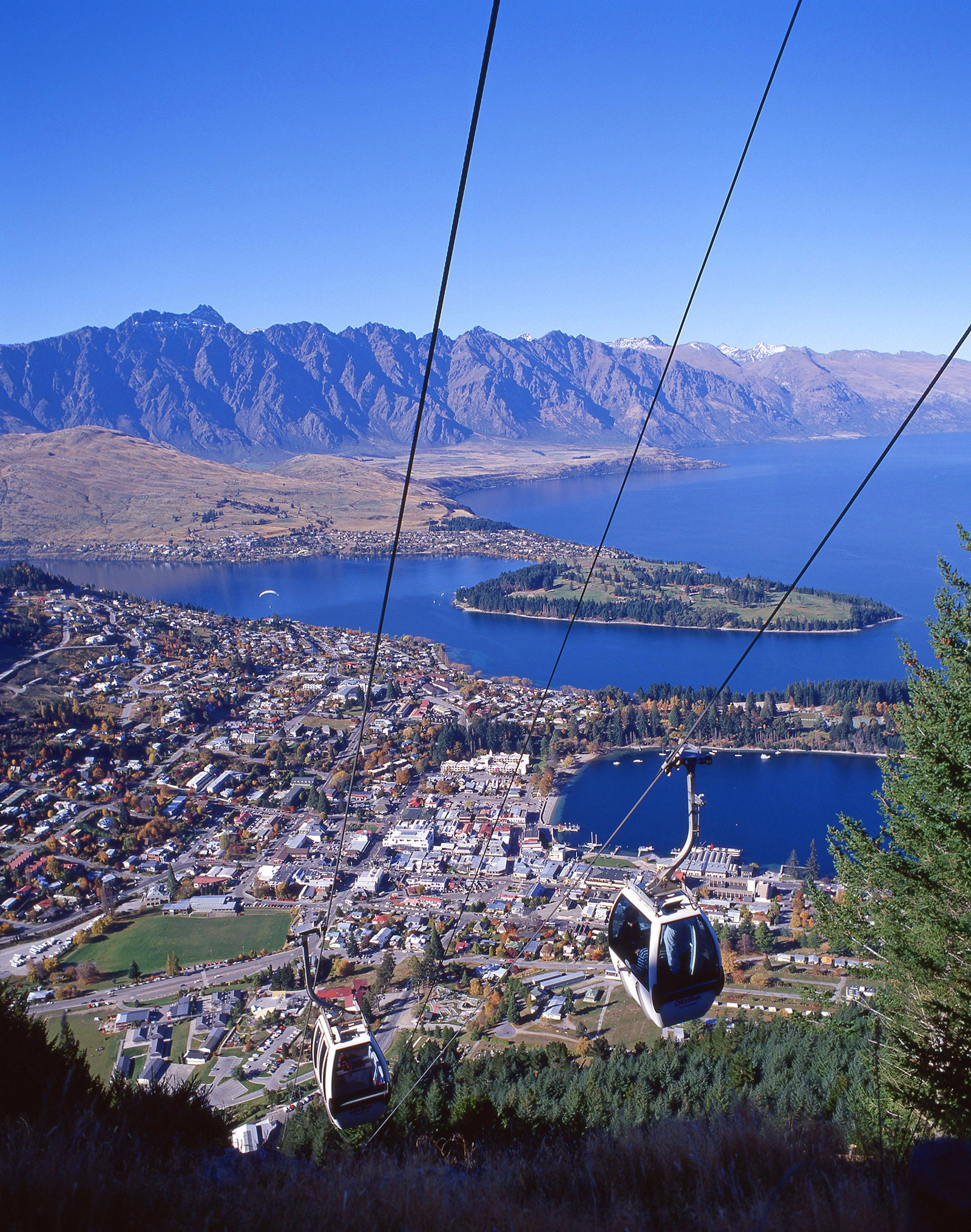 Skyline Gondola, Queenstown, New Zealand