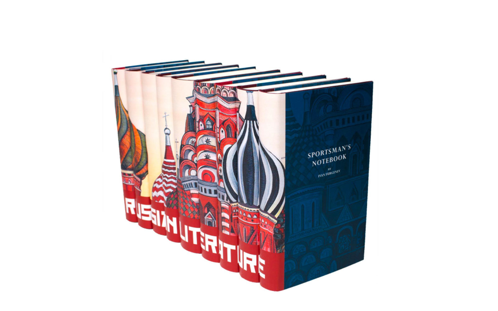 Travel Wedding Gifts: Russian Literature Set