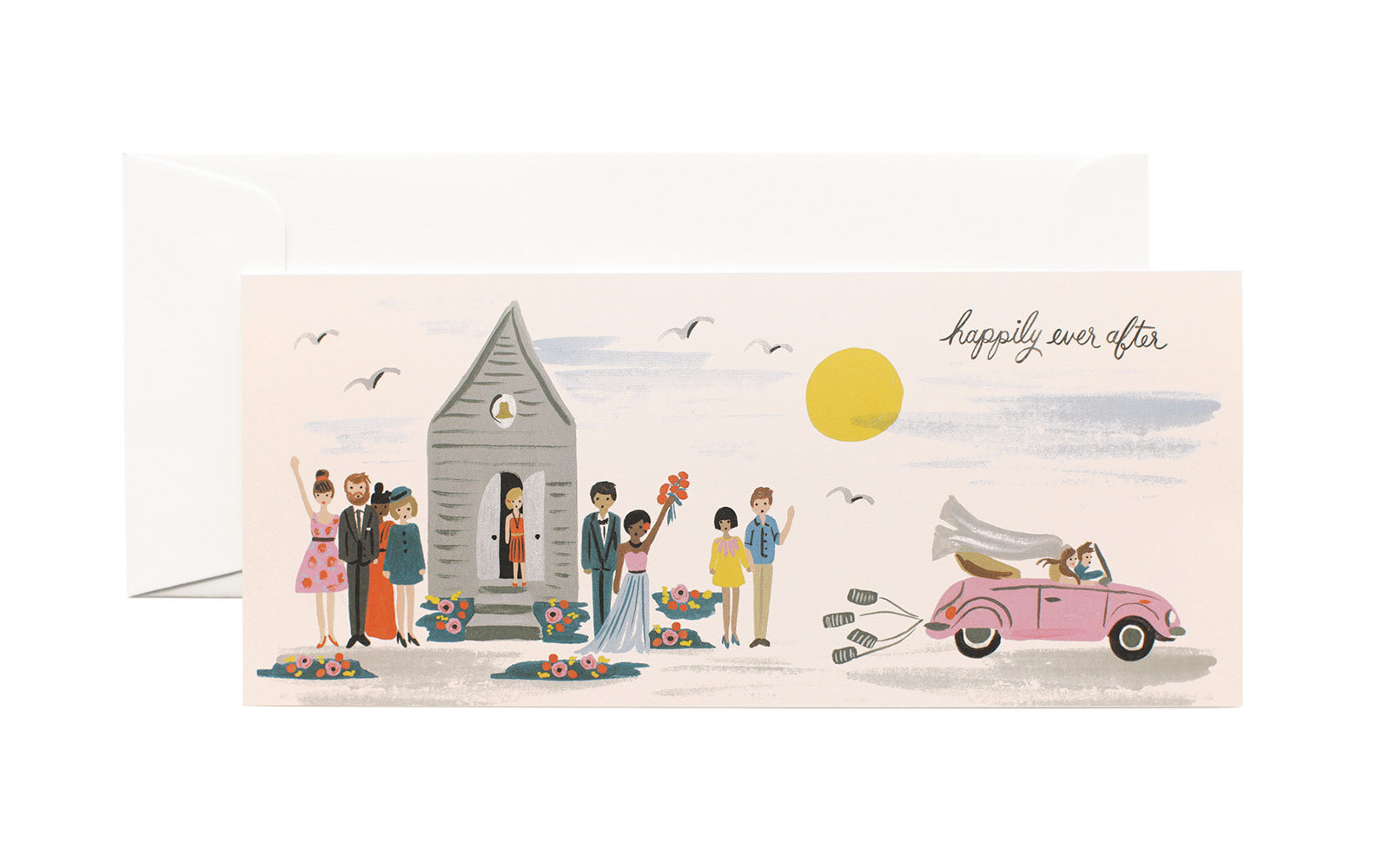 Travel Wedding Gifts: Rifle Paper Co. Card