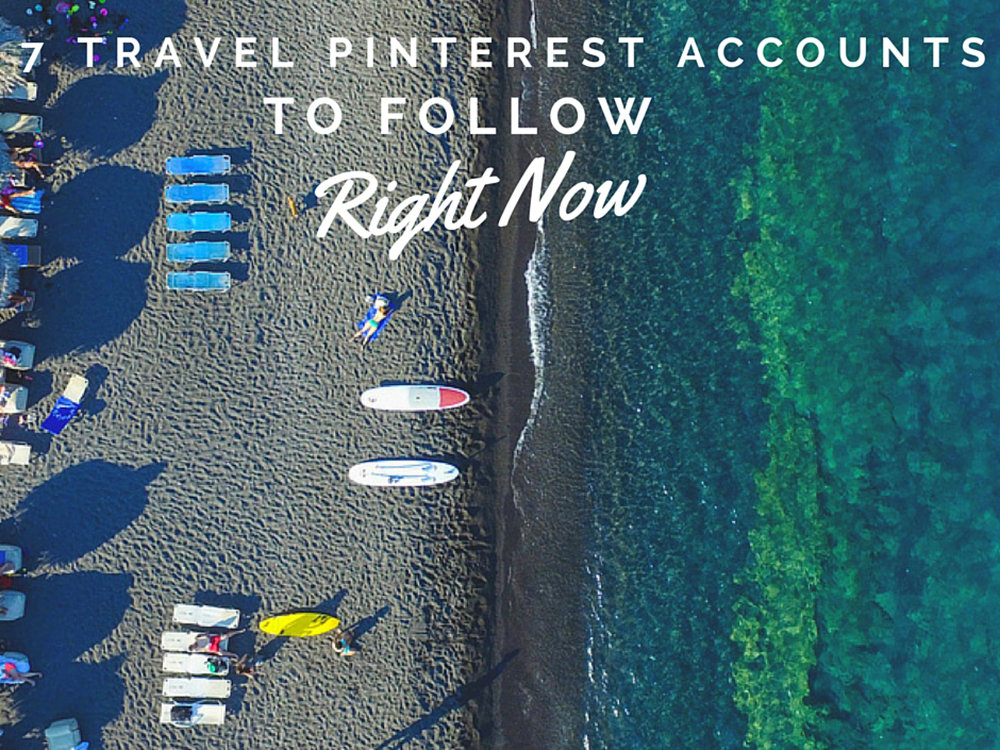 Travel Pinterest Accounts