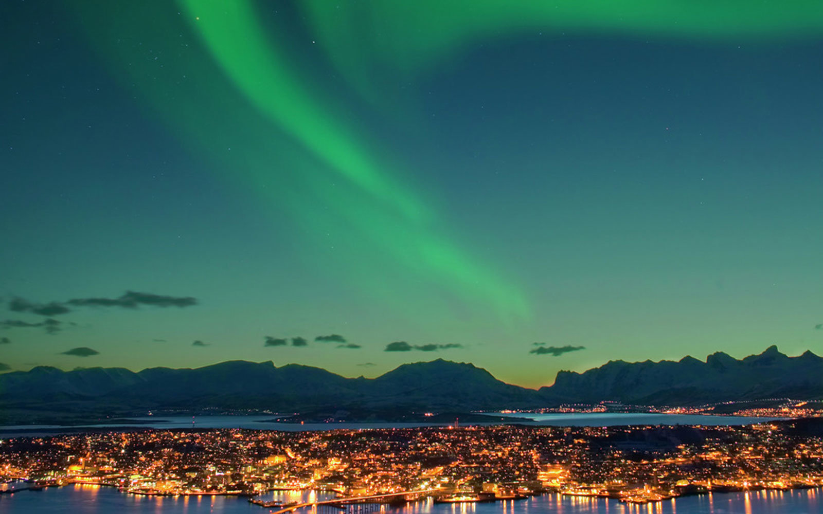 Northern Lights in Tromsø, Norway