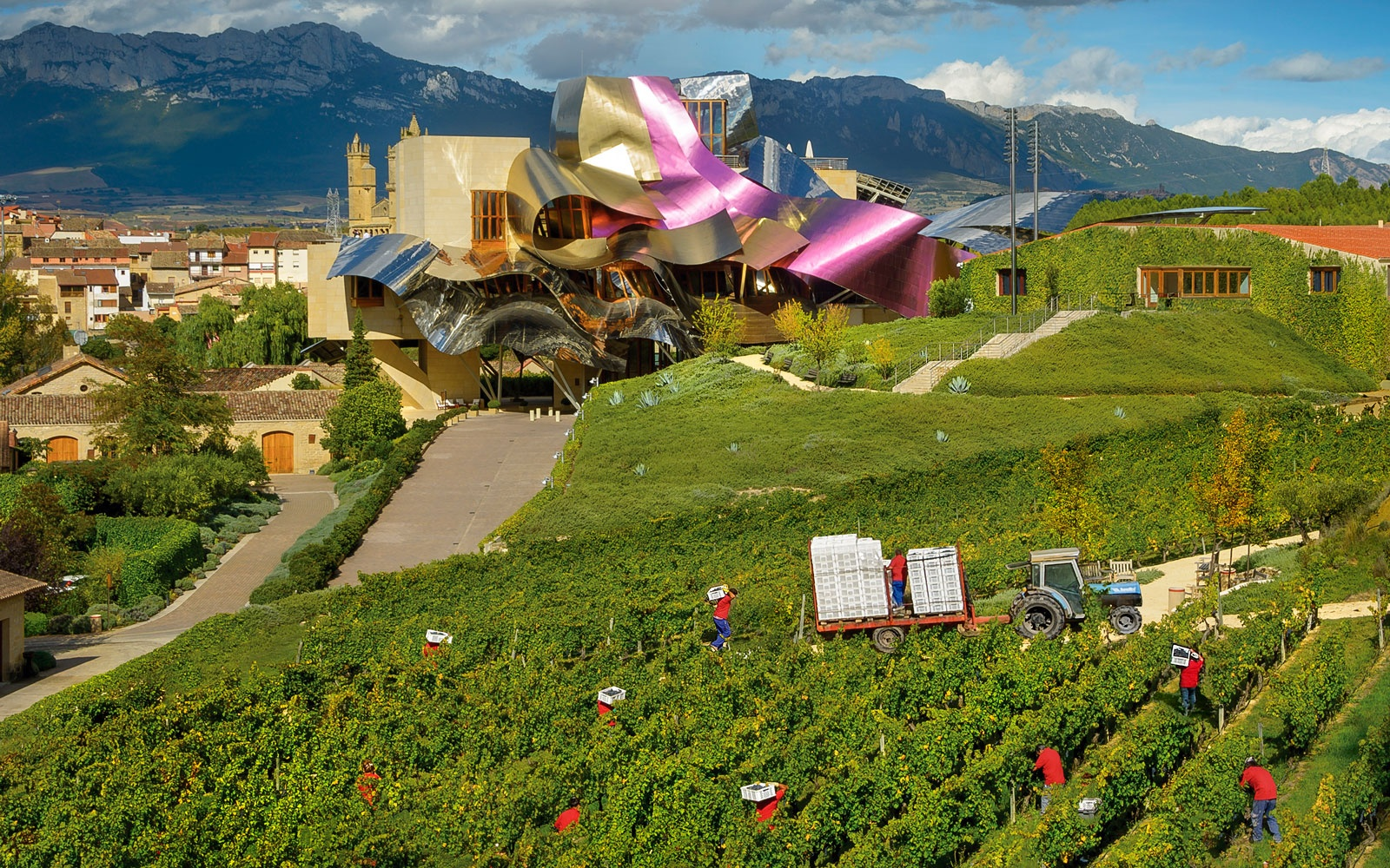 Marques de Riscal, Rioja, Spain