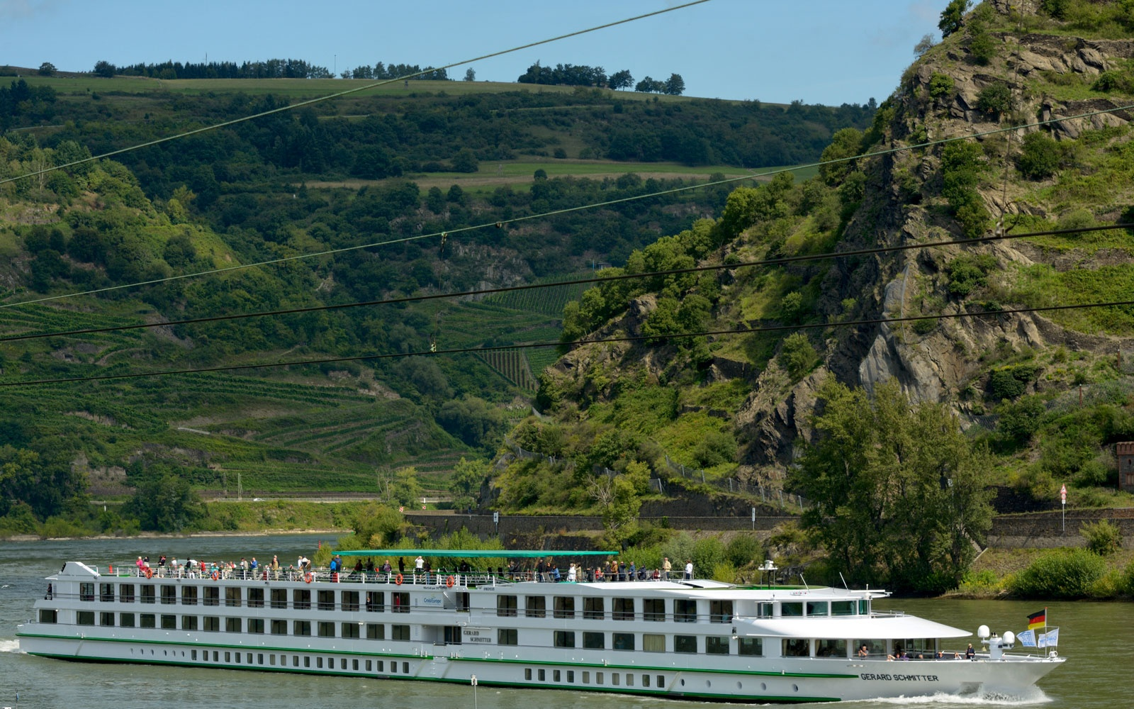 Rhine River Cruise, Germany
