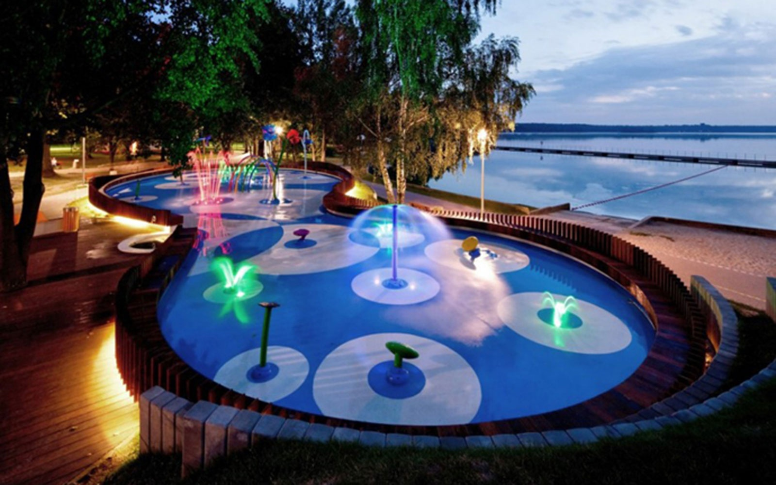 Water Playground, Tychy, Poland