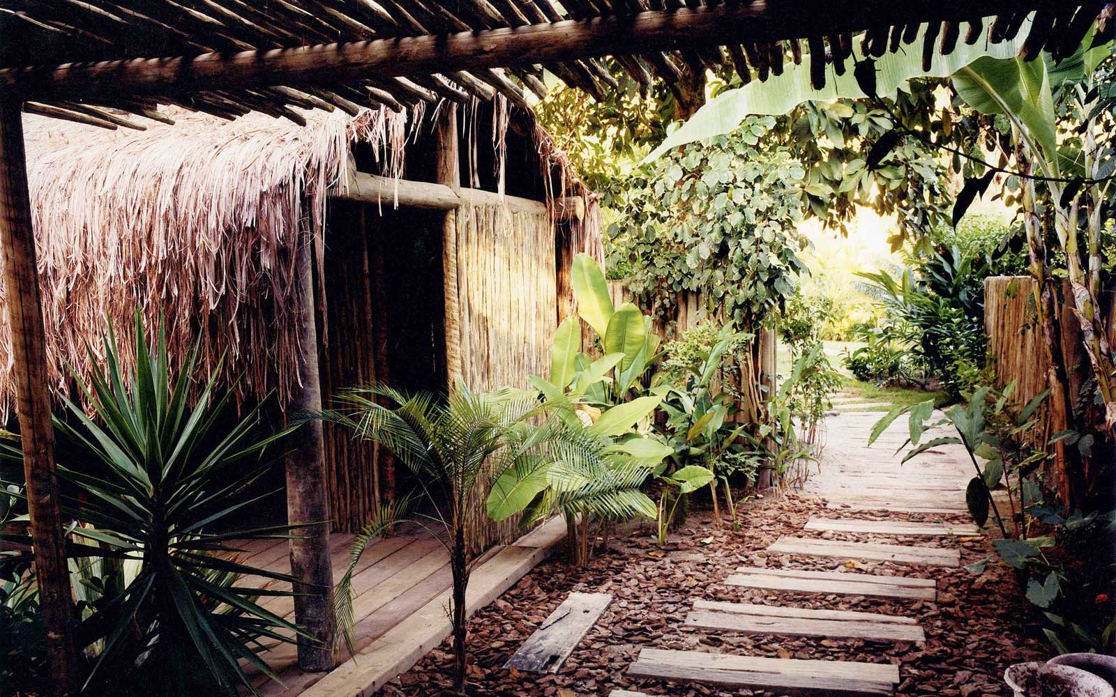 Spa area at the UXUA Casa, in Brazil