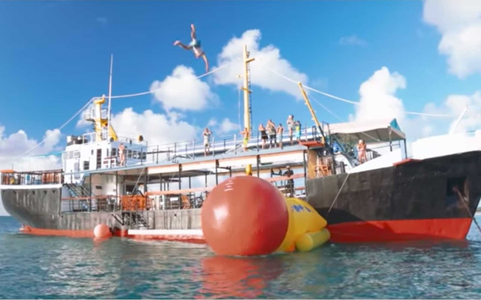 This Party Boat In Antigua Is Basically A Floating