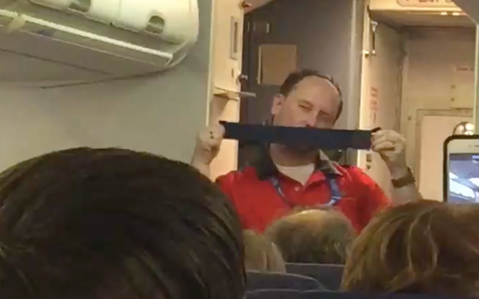 This Flight Attendant's 'Sexy' Safety Demonstration Will Have You Laughing Out Loud