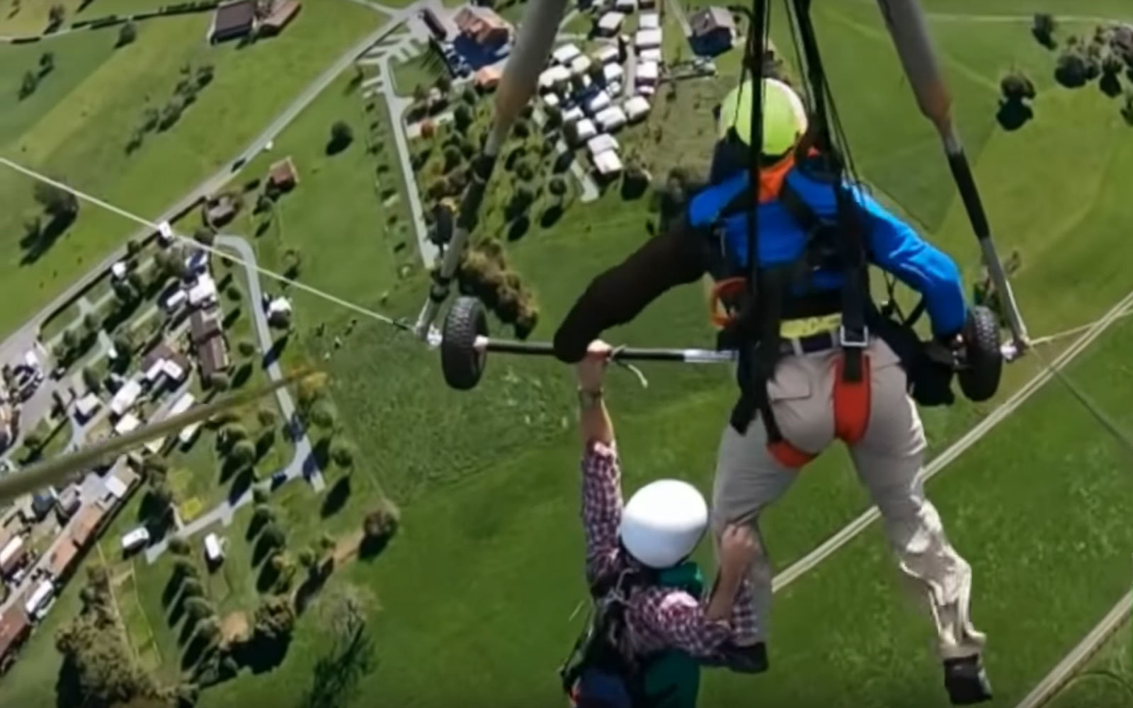 Watch This Hang Glider Hang On For Dear Life After