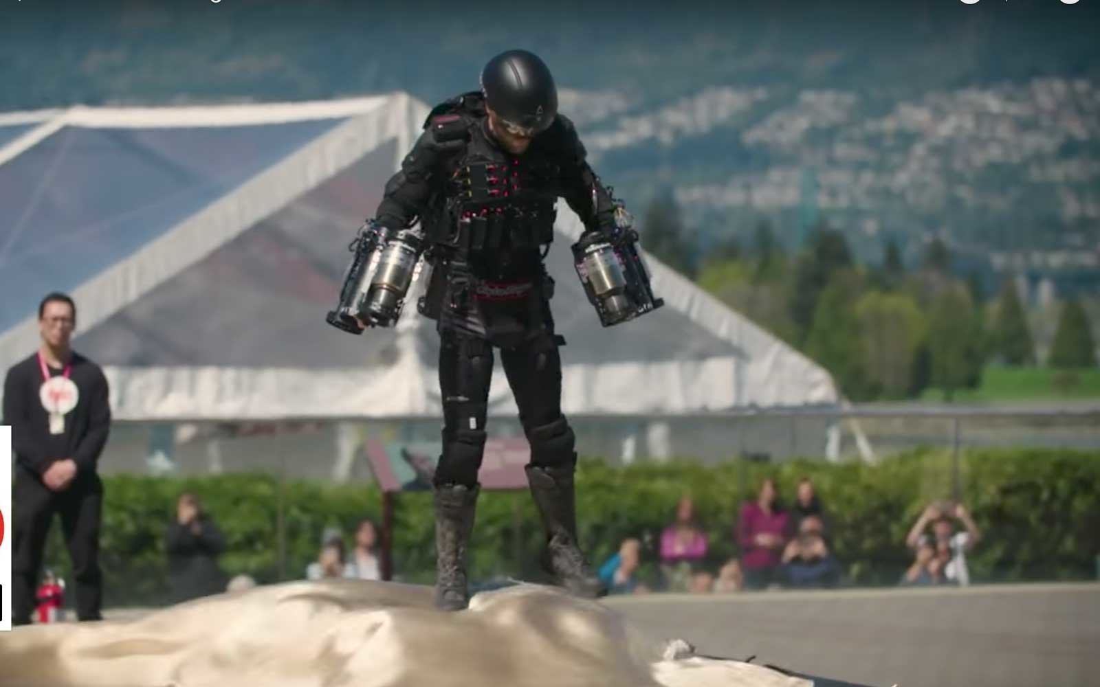 Real Life Iron Man Breaks Record For Fastest Jet Pack Video Travel Leisure