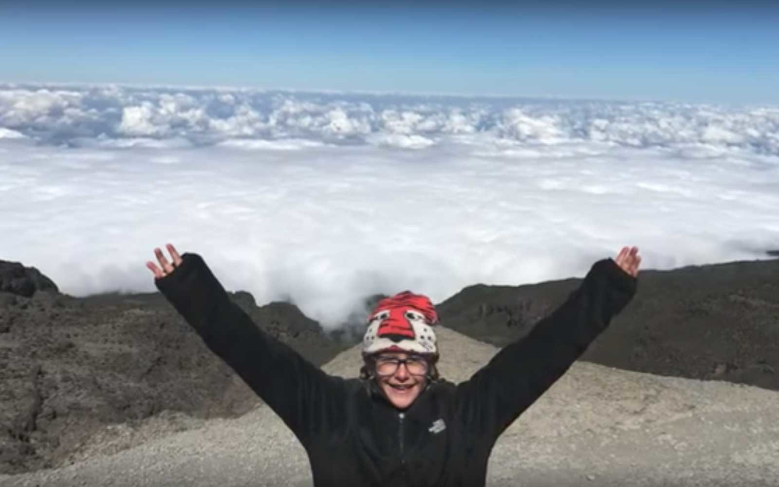 8 Year Old Becomes Youngest Female To Summit Mount