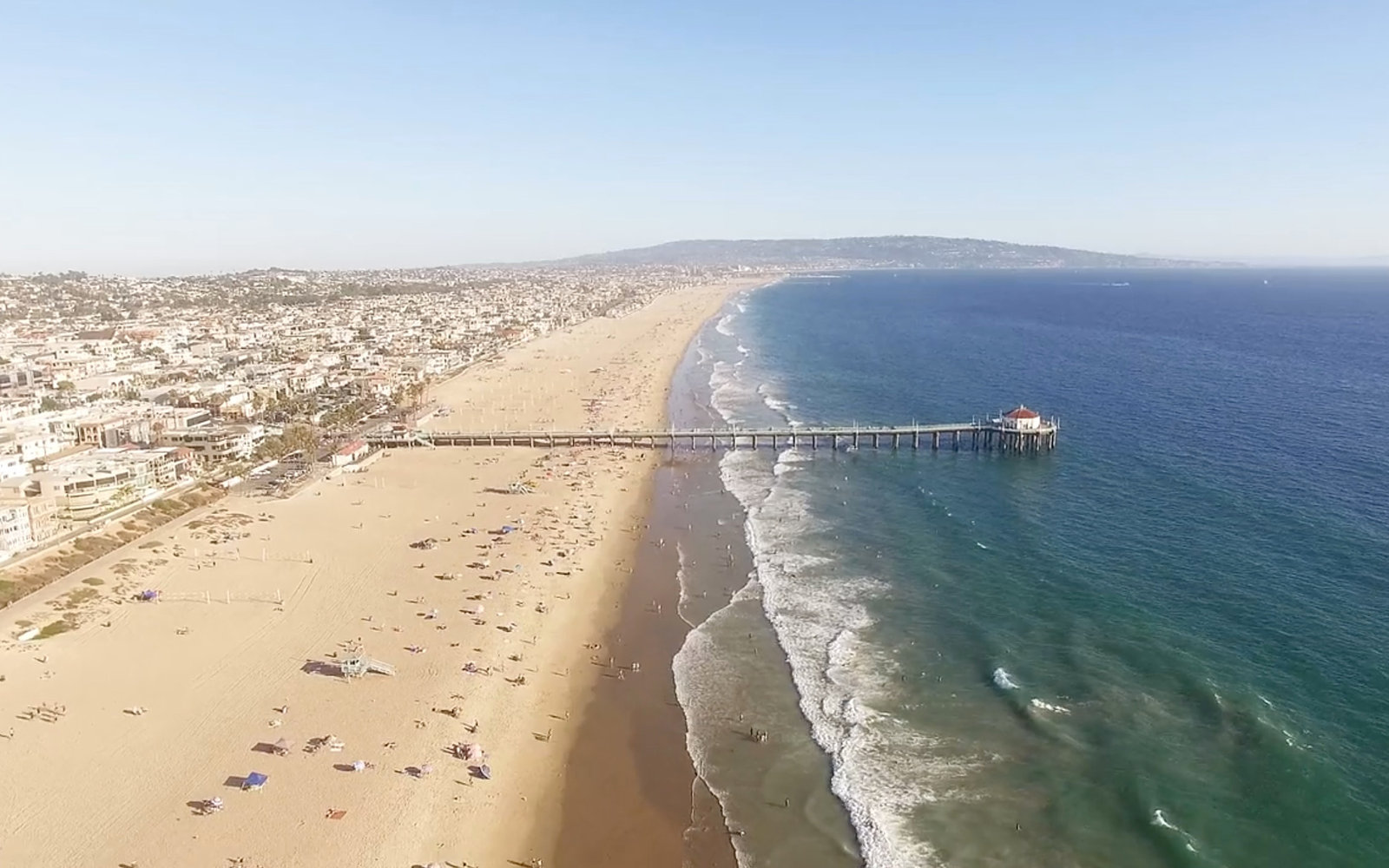 You (Probably) Haven't Seen Manhattan Beach Quite Like This Before