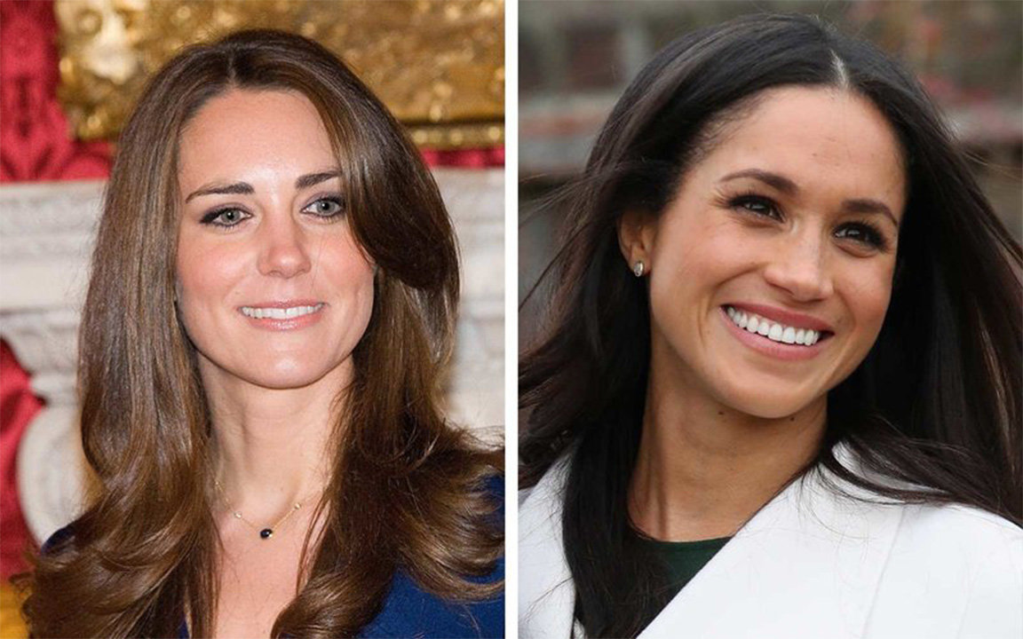 How Meghan Markle S Engagement Ring Compares To Kate Middleton S