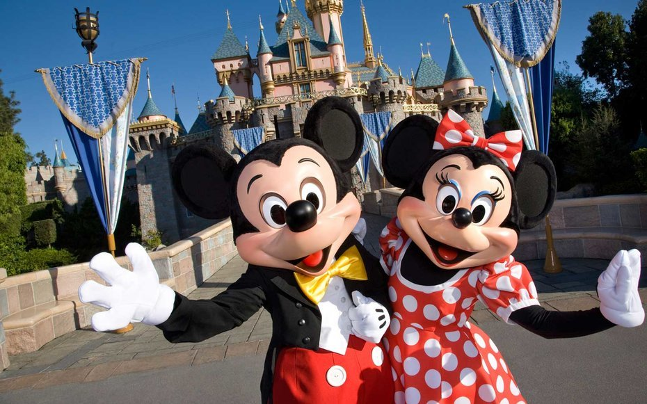 Image result for mickey and minnie disney world