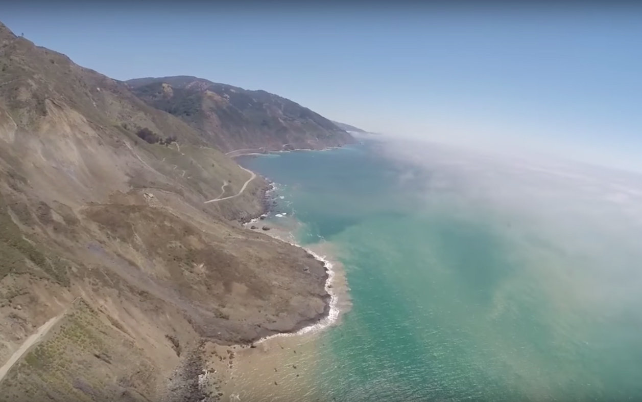 Biggest Mudslide In California History Buries Part Of The Pacific Coast Highway In Big Sur