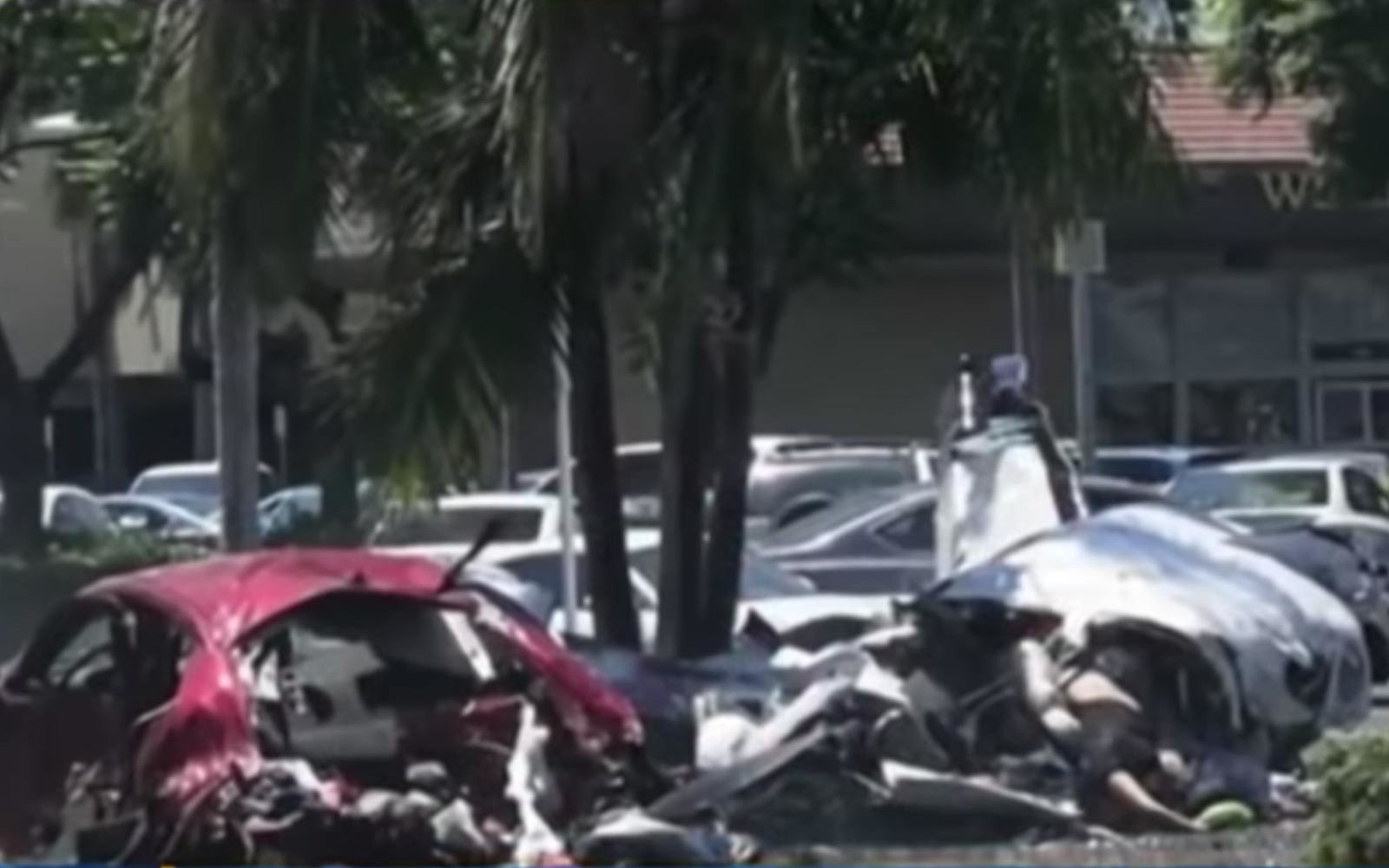 Plane Crashes Into Car In California Parking Lot Killing
