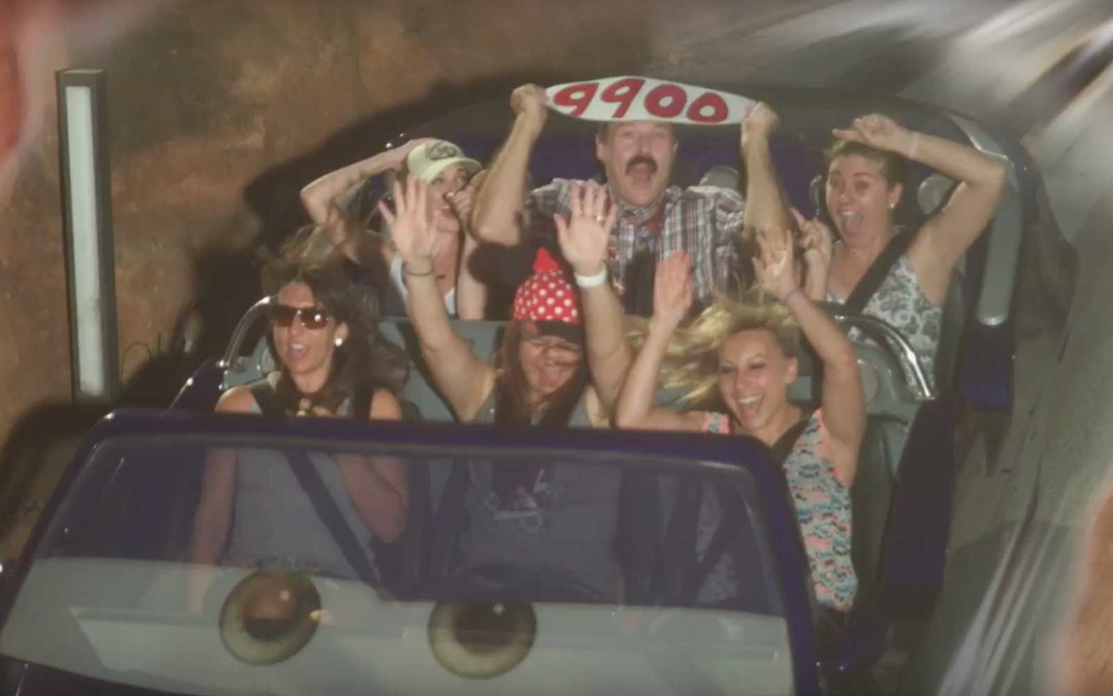 This Man Has Been on His Favorite Disneyland Ride 10,000 Times