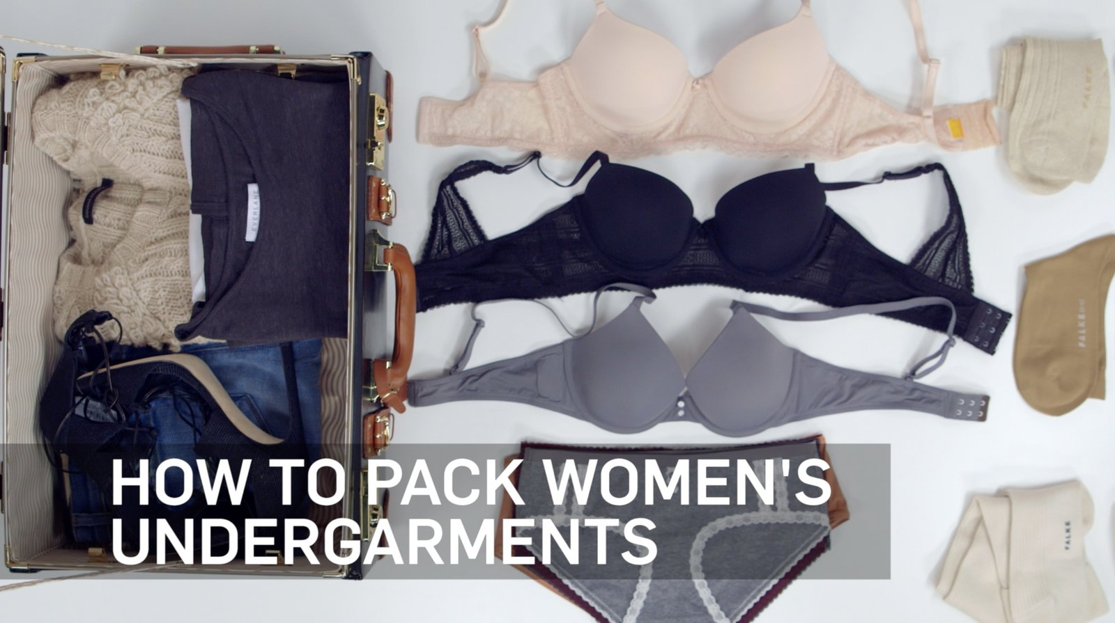 VIDEO: How to Pack Undergarments