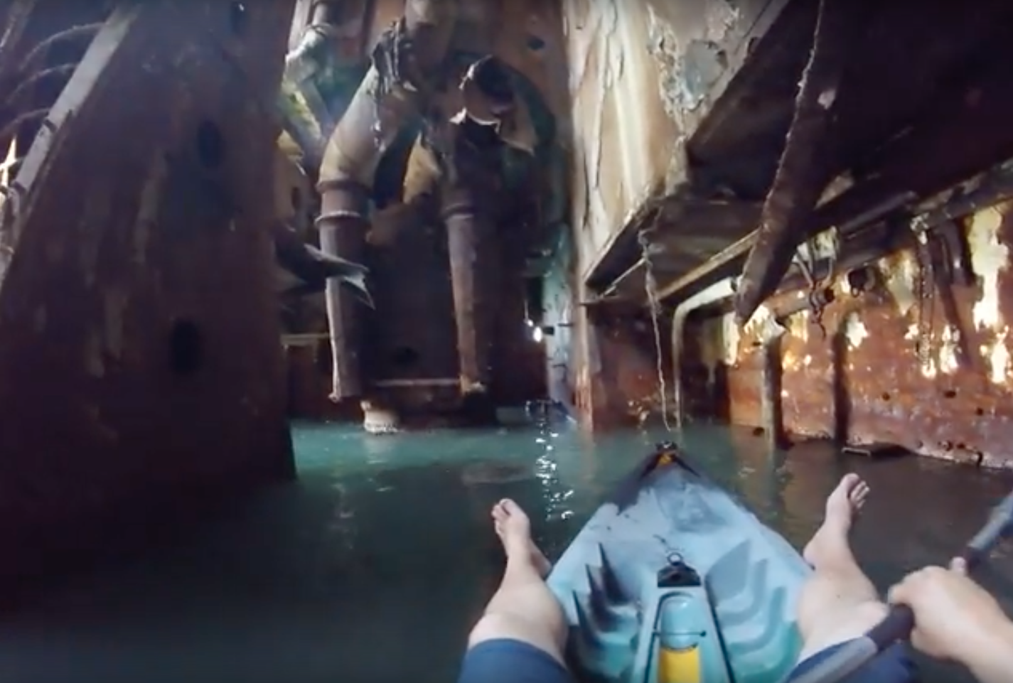 Video Takes You Inside an Abandoned Shipwreck in Romania