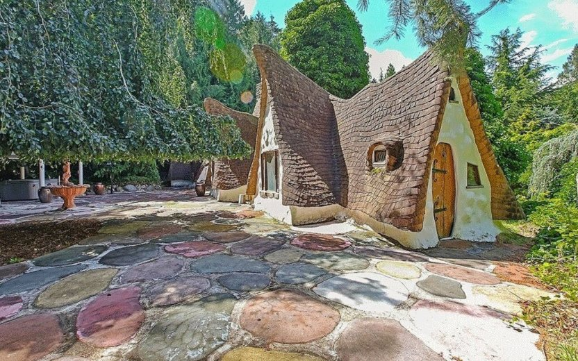 A Perfect Replica of Snow White's Cottage Is for Sale