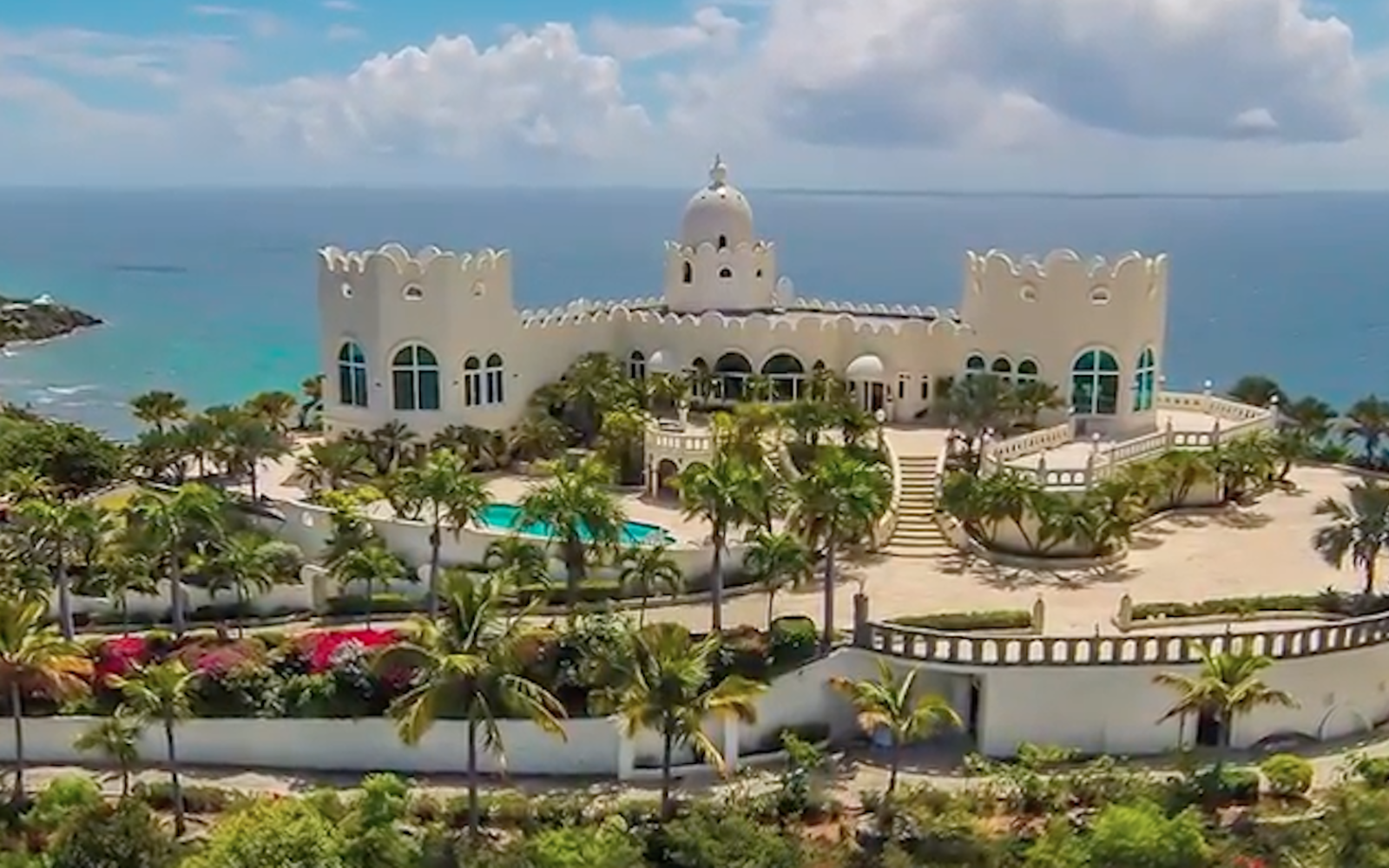This Caribbean Castle Was A Countess S Dream Home Brought