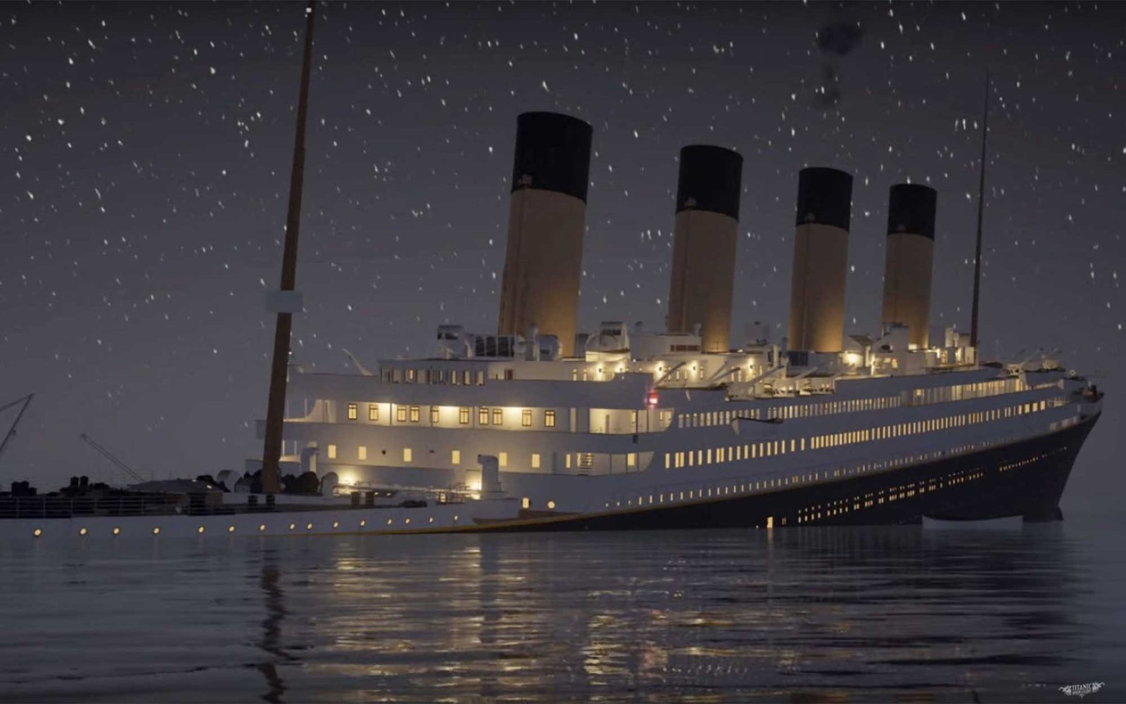 New Video Lets You Watch the Titanic Sink in Real Time