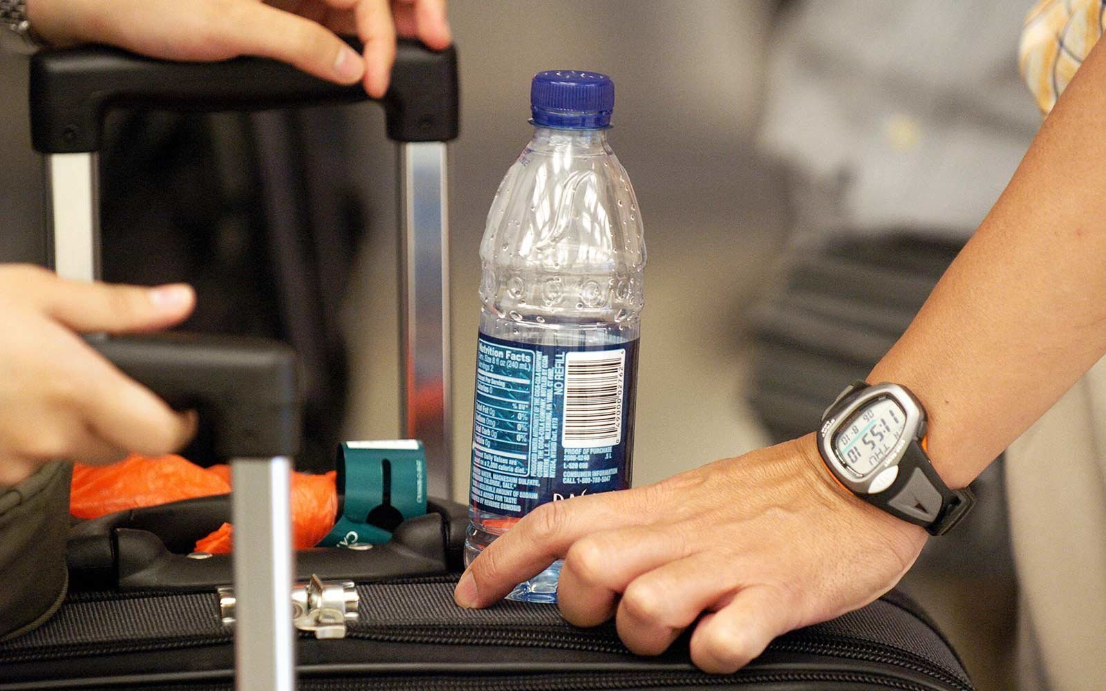 This Travel Hack Will Let You Transport Your Favorite Beverage Through Security (Video)