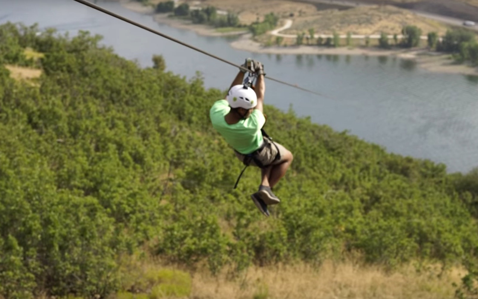 The Longest Zipline In The World Stretches More Than Two