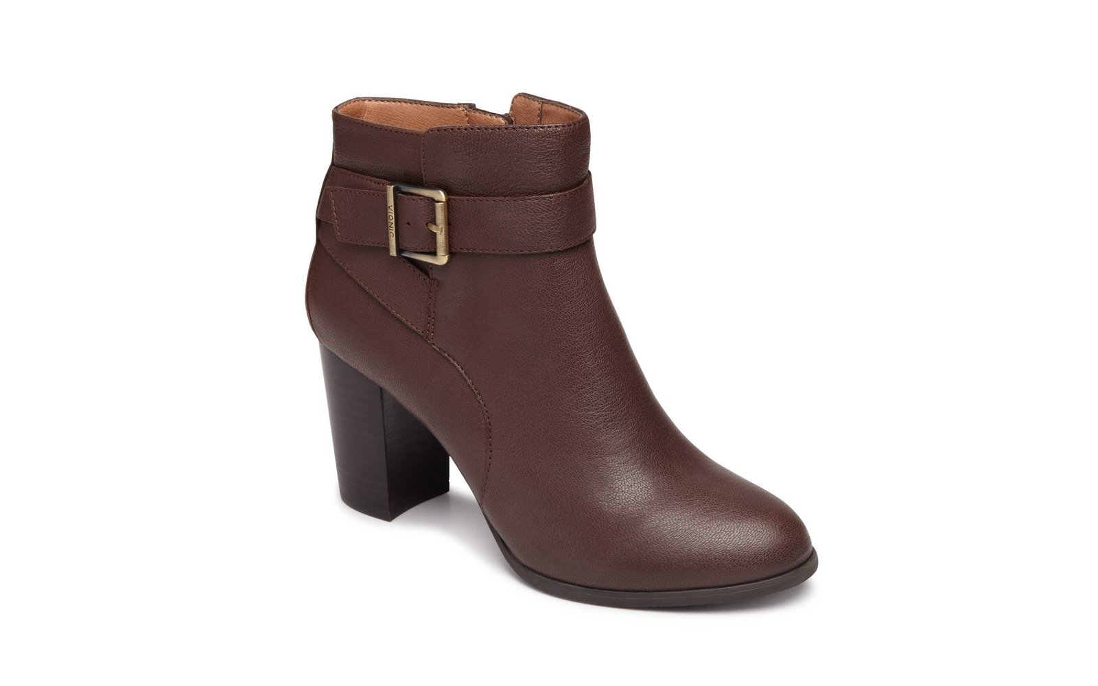 Buckled-up Ankle Boots