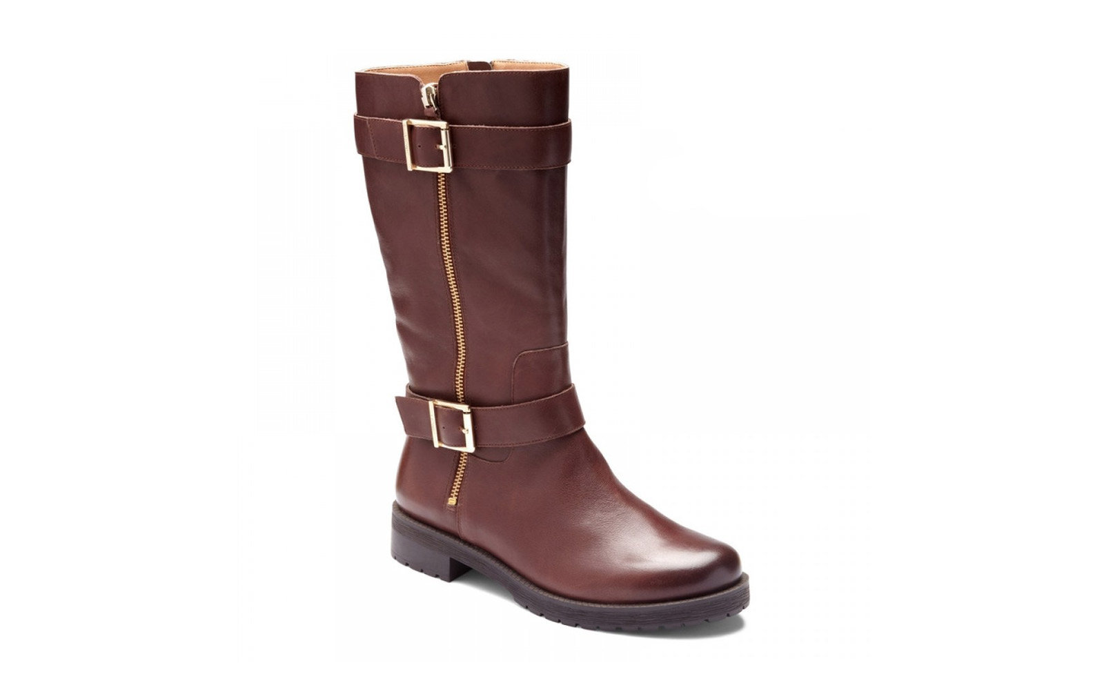 Winter boots on the platform - style and comfort