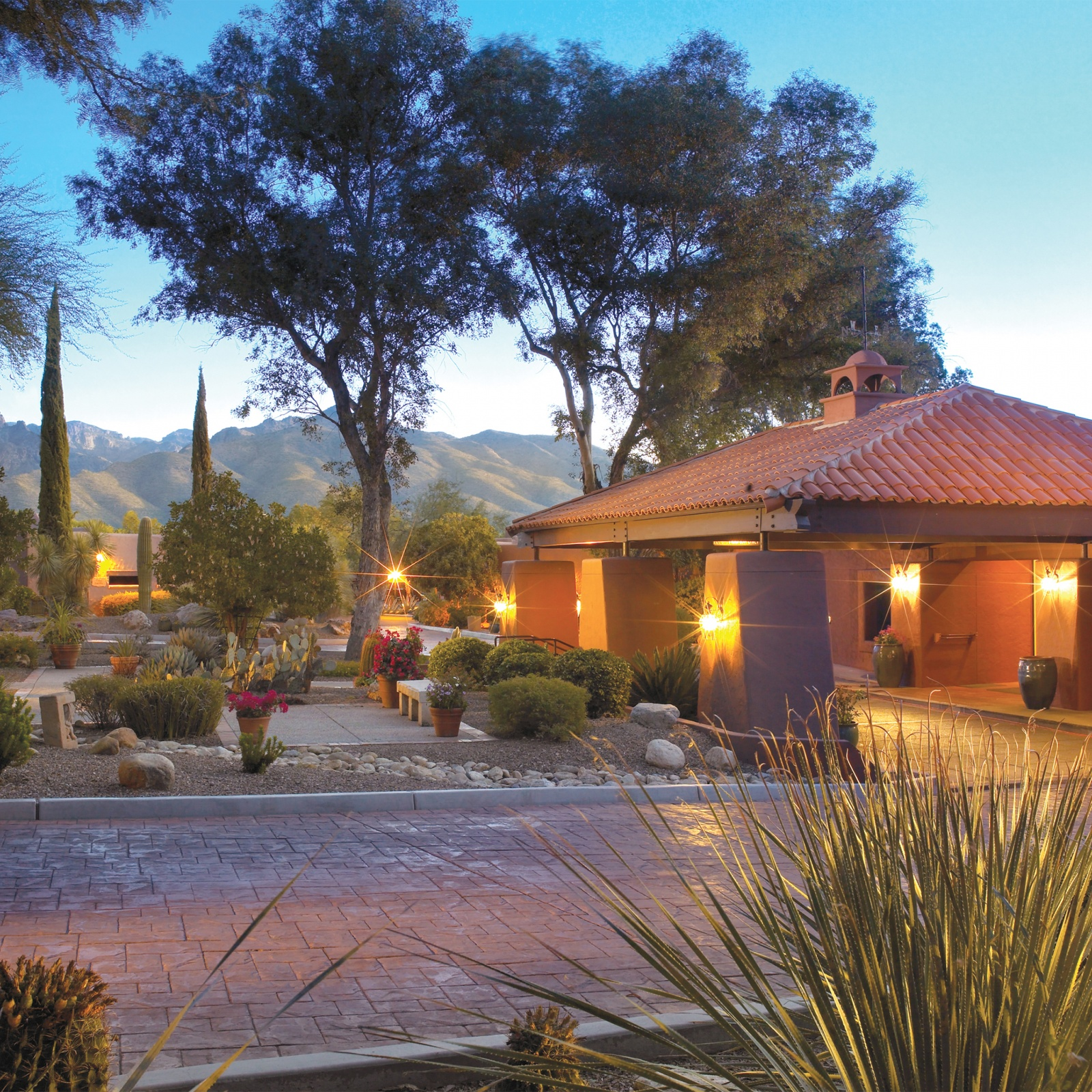Exterior of Canyon Ranch in Tucson