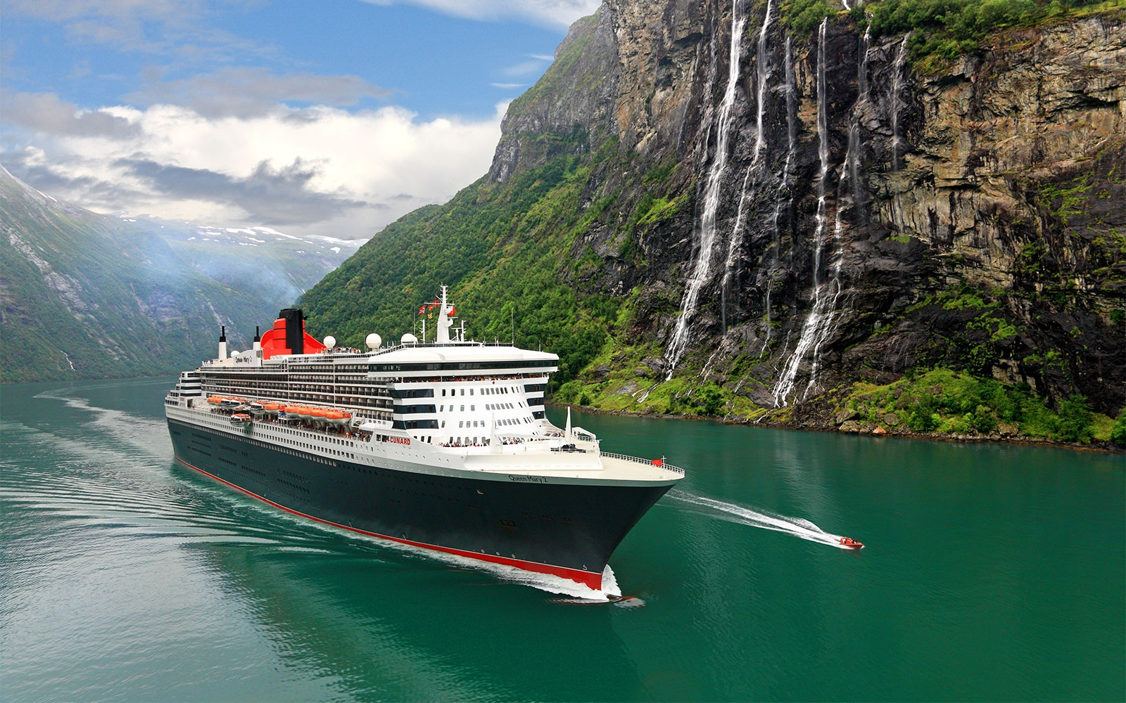 No. 5 Large-Ship Ocean Cruise Line: Cunard