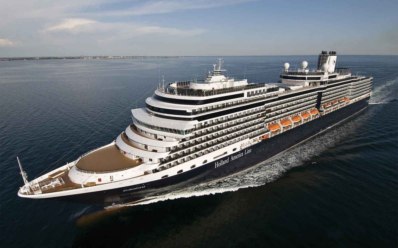 No 7. Large-Ship Ocean Cruise Line: Holland America Line