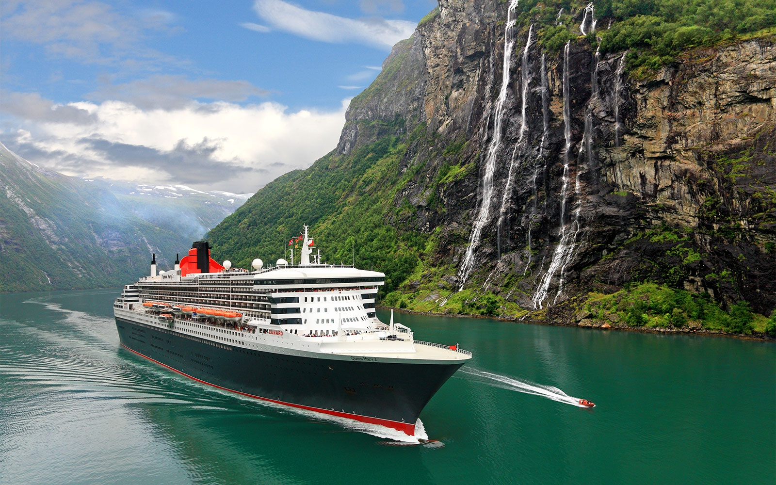 No. 4 Mega-Ship Ocean Cruise Line: Cunard
