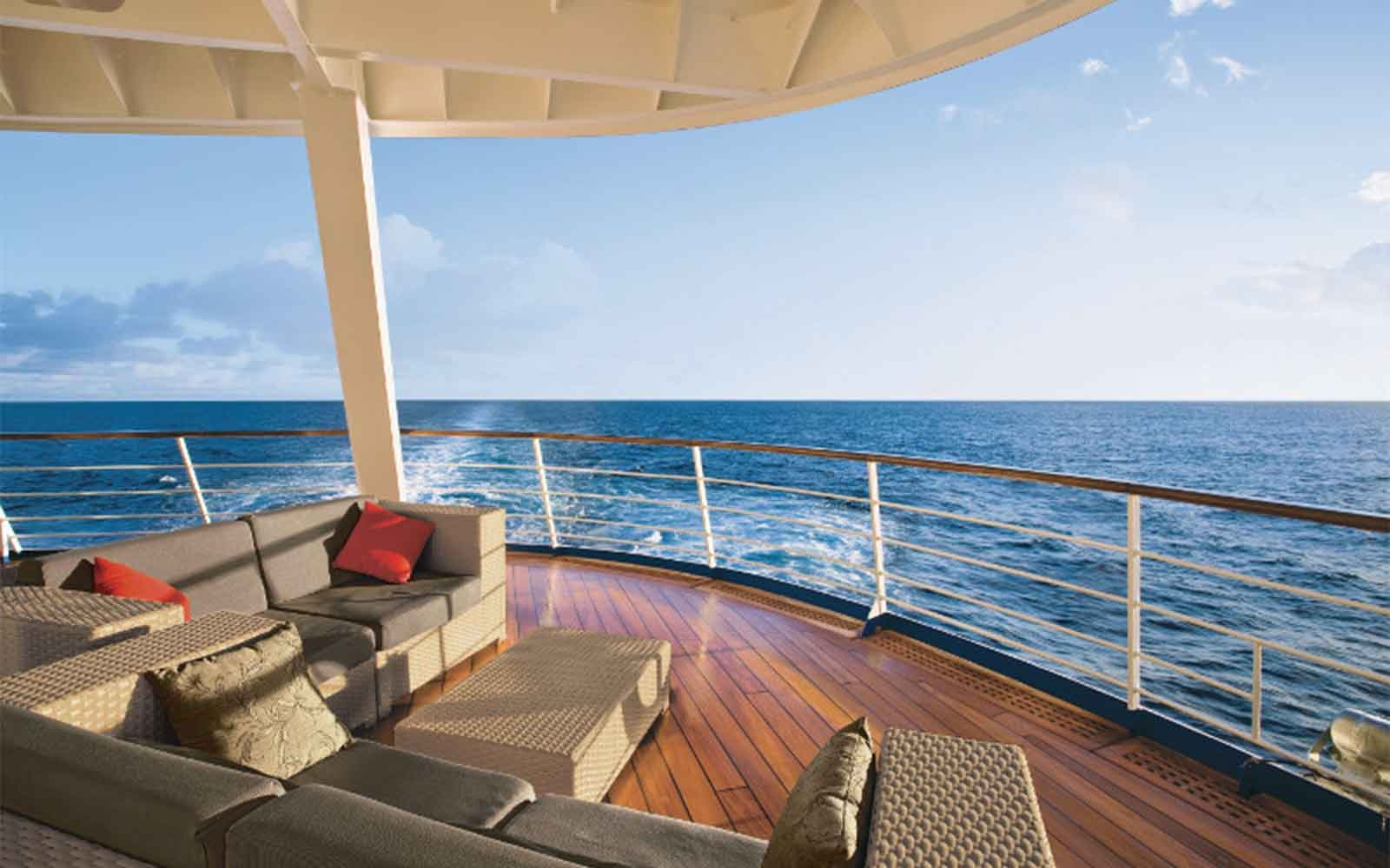No. 4 Small-Ship Ocean Cruise Line:  Regent Seven Seas Cruises
