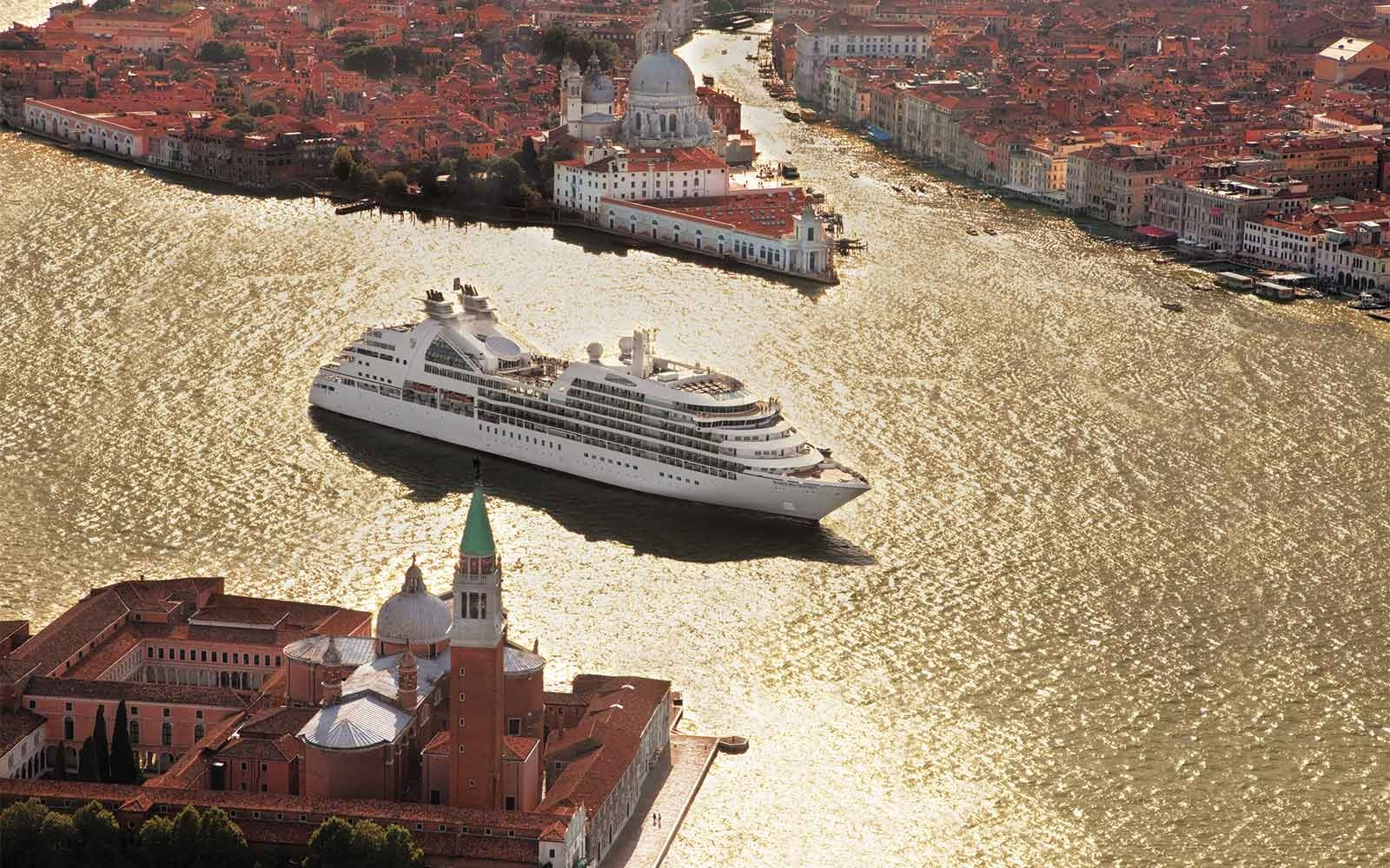No. 1 Small-Ship Ocean Cruise Line:  Seabourn