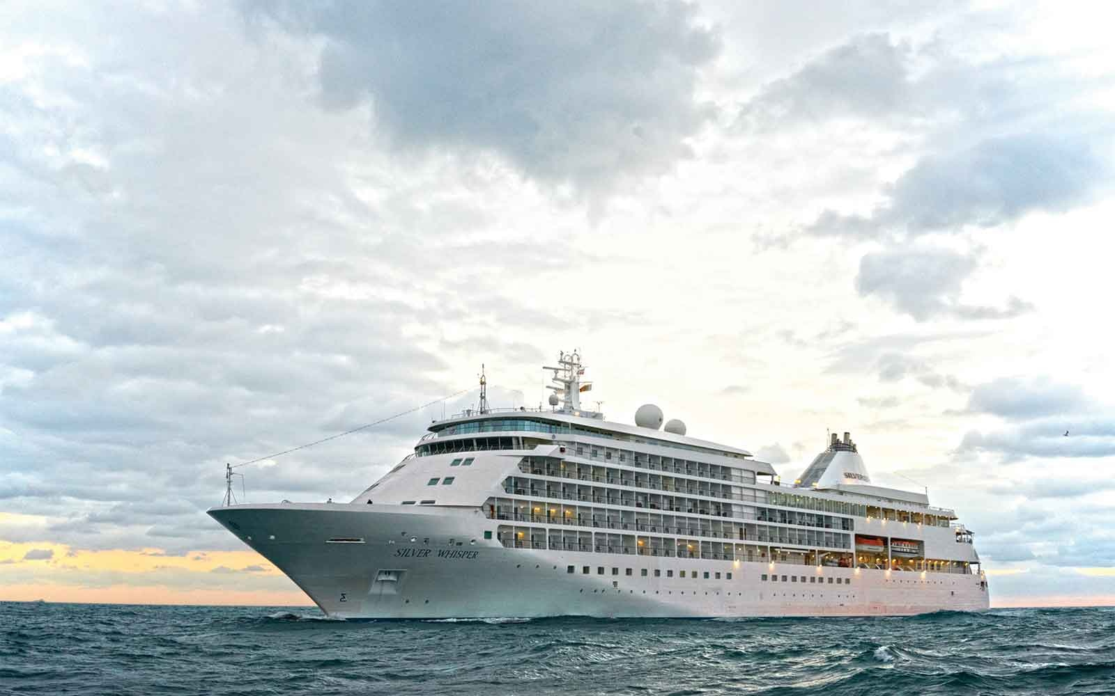 No. 5 Small-Ship Ocean Cruise Line: Silversea