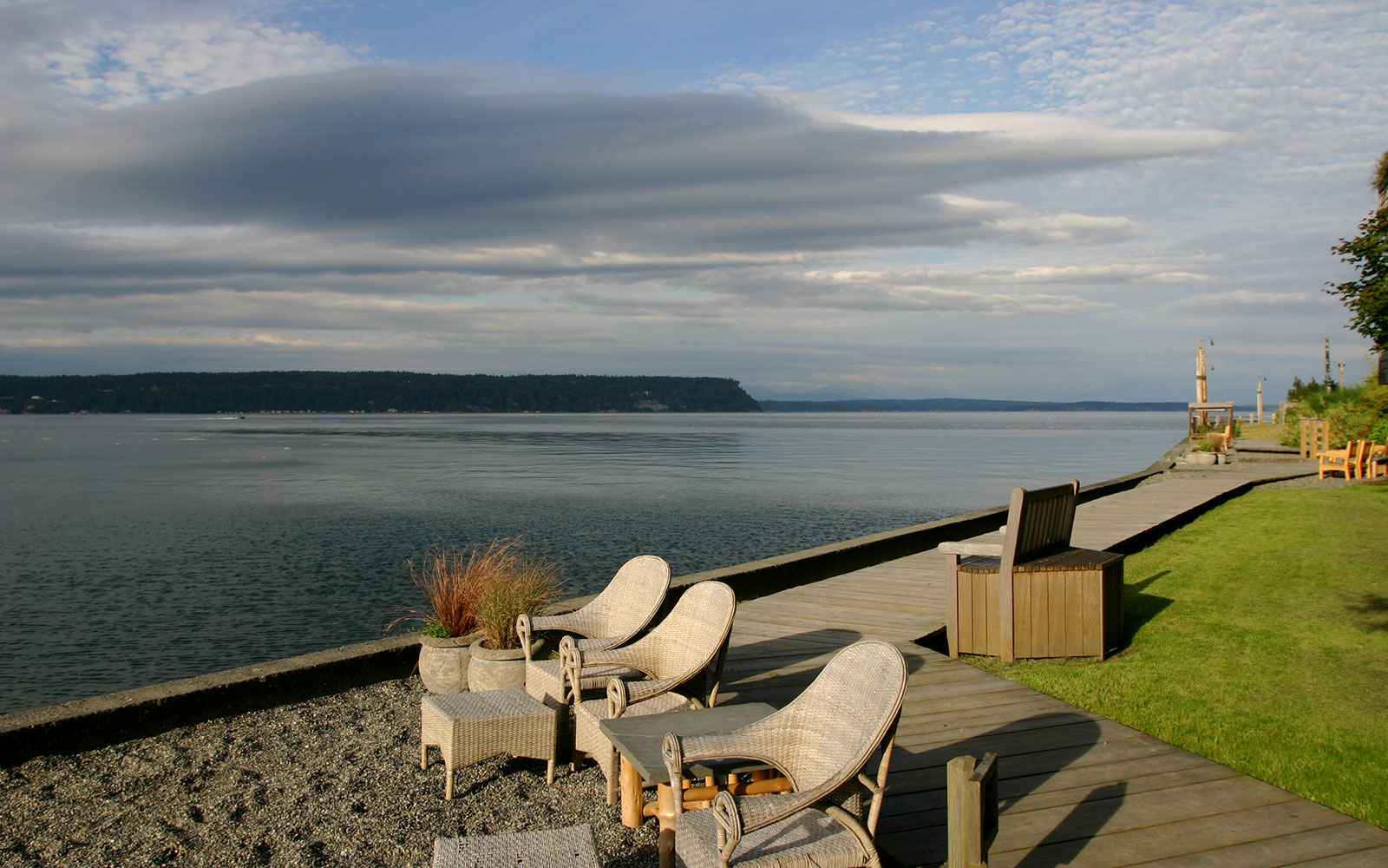 On the Waterfront: Whidbey Island, Washington