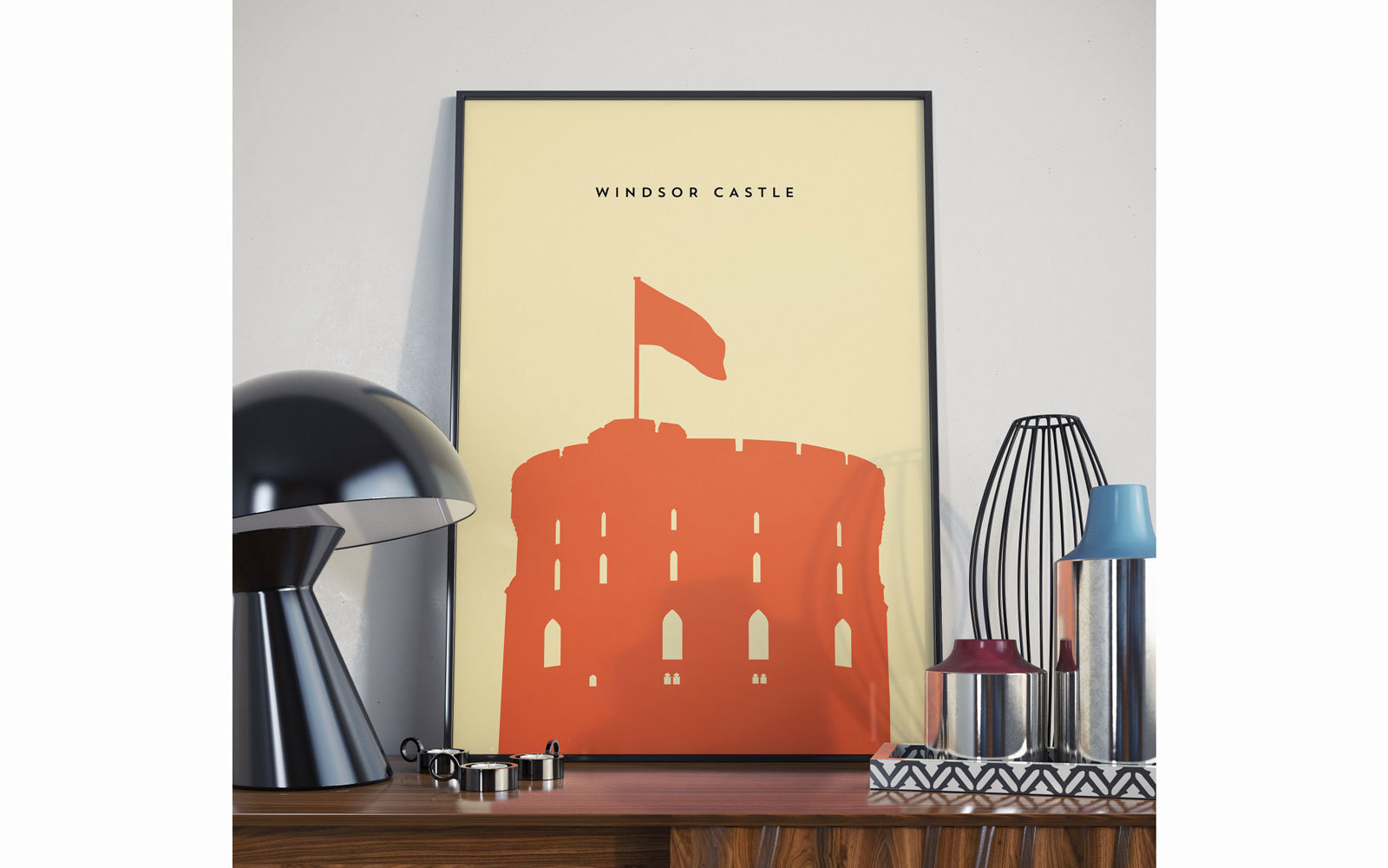 Windsor Castle Print Etsy
